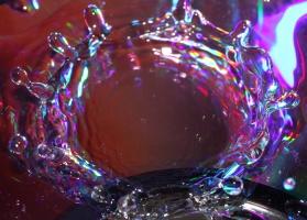 Colorful Water Splash