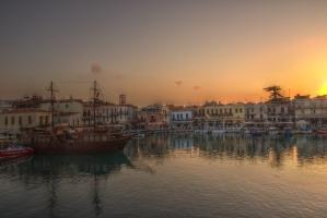 Rethymnon harbour