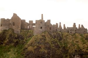 Dunluce Castle, Bushmills, County Antrim, Northern Ireland
