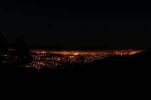 Bodø - Foggy Night