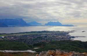 Bodø - view from Keiservarden