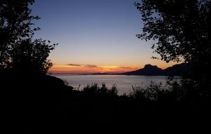 Landegode sunset view from Skivika