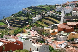 Agulo, La Gomera, Canary island