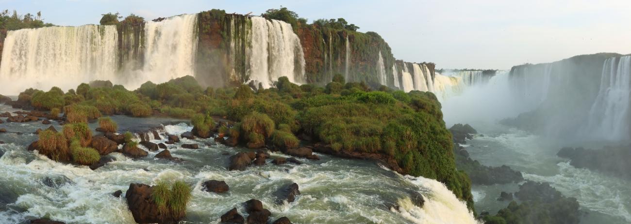 Iguazu Falls, Iguaçu National Park, Brazil