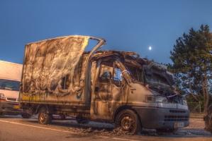 Burntout Van
