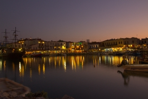 Rethymnon harbour