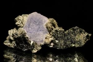 Arsenopyrite with blue Fluorite