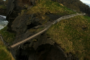 Carrick-a-Rede Rope Bridge, Ballintoy, County Antrim, Northern Ireland_2
