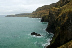 Carrick-a-Rede Rope Bridge, Ballintoy, County Antrim, Northern Ireland_3