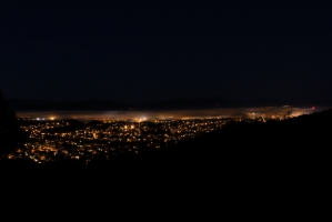 Bodø - Foggy Night