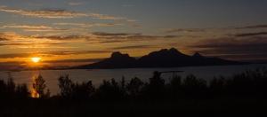 Landegode sunset